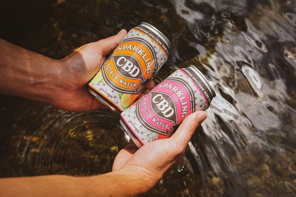 CBD Sparkling Sodas and Waters